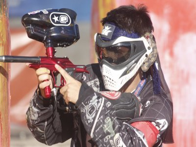 Paintball game in Algodonales 150 balls