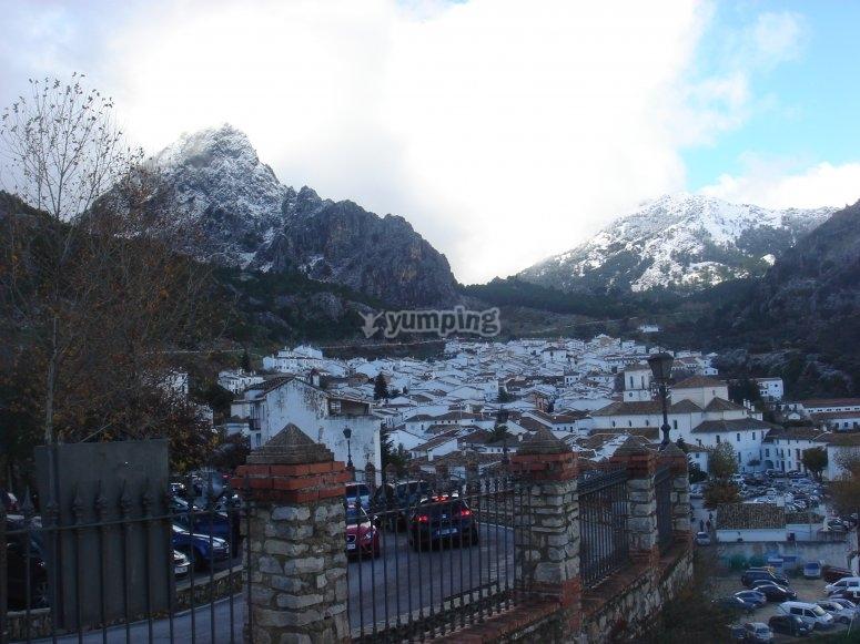 Sierra de Grazalema en invierno