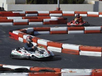 Karting for kids, 2 rounds + snack, Málaga