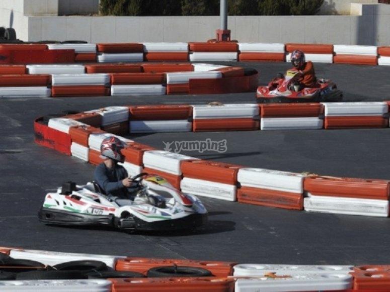 Karts race