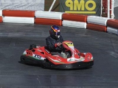 Cumple infantil con carrera de karting y merienda