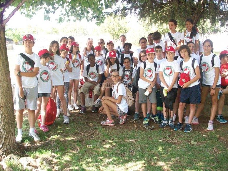 Grupo de alumnos