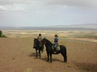 Ruta a caballo con alojamiento Guadix San Valentín