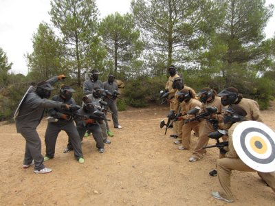 Paintball 100 rounds in Valencia
