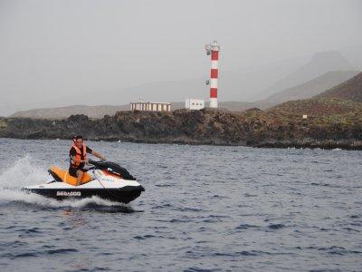 伟大的单一水上摩托车游览特内里费岛2小时
