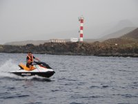 Gran excursión moto de agua individual Tenerife 2h