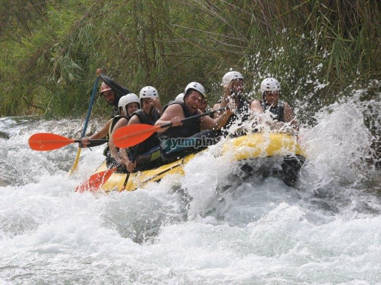 En el rio Cabriel