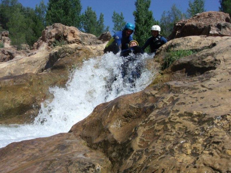 Descenso de barrancos en Chorreras