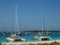 香蕉船第一大党船在Ibiza