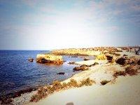 Coast of the island of Tabarca