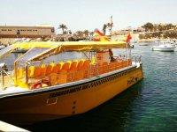 Taxi a Tabarca en el puerto
