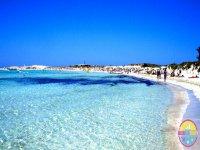 日光浴伊比萨沙滩派对船船派对女孩伊维萨福门特拉船