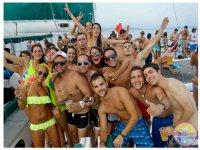 girls parties boats in ibiza