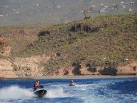 Excursión Tenerife en moto de agua doble 2 horas