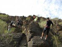 Curso de descenso de barrancos en Tenerife 40h