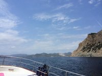 乘船欣赏大海