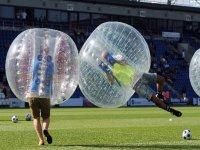 Fútbol burbuja en Galicia