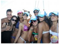 girls of the best party in ibiza boat party boat