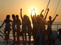 sunset parties boat ibiza farewell single and single