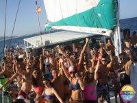 boys and girls catamaran parties ibiza