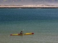 driving the kayak