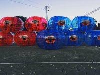 Bubble football in Guimar 1 hour