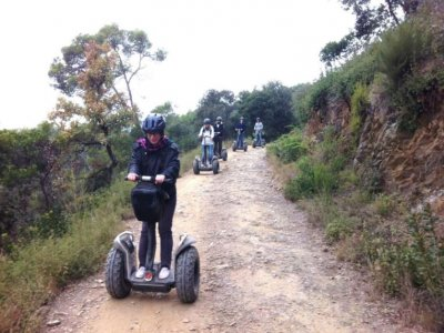 Segway tour through Can Catà
