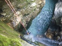 Canyoning session