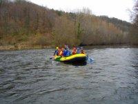 Start of season in the river