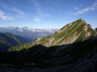 Climb until higher peaks