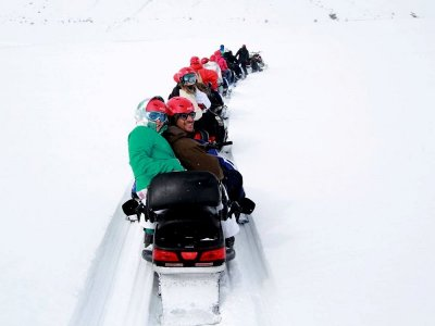 Two-Seater Snowmobile Route, La Partacua 2h