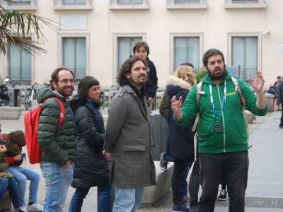 The origin of Madrid city tour + drink
