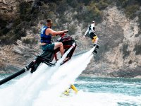 Reaching the top with the Flyride and Flyboard