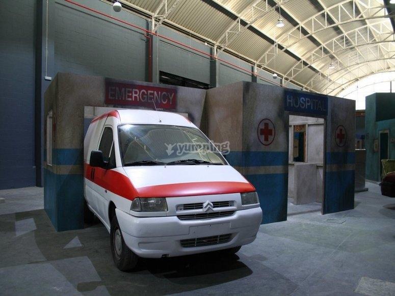 Hospital en el escenario