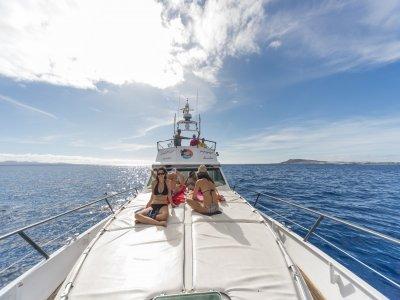 乘船共享Playa Blanca出发2小时