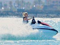 Drive a jet ski