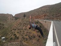 Spectacular bungee jumping