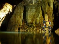 Caving and abseiling in cave in Mallorca 5 hours