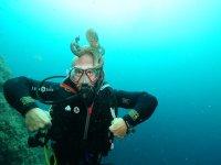 潜水员的绝佳章鱼