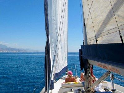 Crucero en velero en el puente de Andalucía 3 días