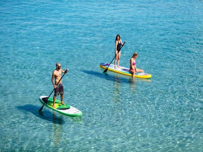 2h Paddle surfing trip in Ibiza