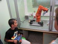 Manejando el robot
