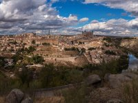 Panoramic of Toledo
