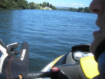 Jet ski route in Pontecesures for 2 (80 minutes)