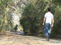 walking through Murcia