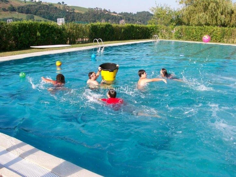 Swimming pool at the facilities