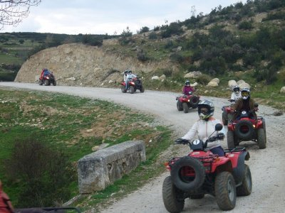 Quad tour in Cervera and St.Valentine meal