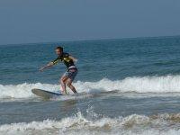 Dominando las olas