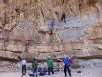 climbing day in Murcia