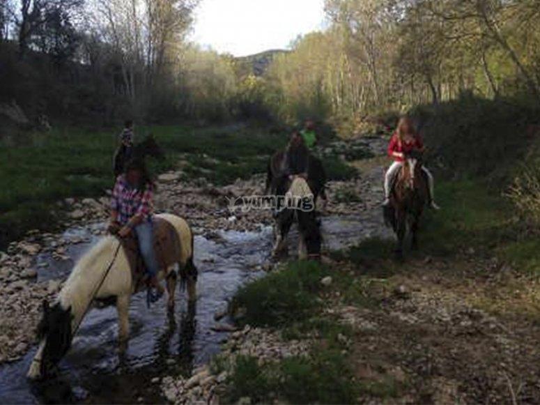 Paseo en caballo por Morella